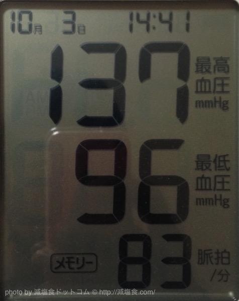 血圧下が高い