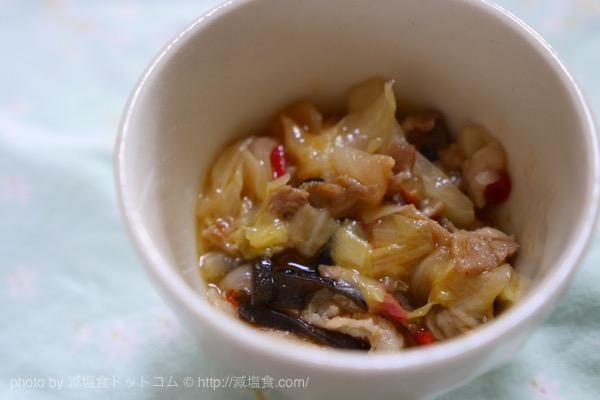 肉野菜炒め 減塩
