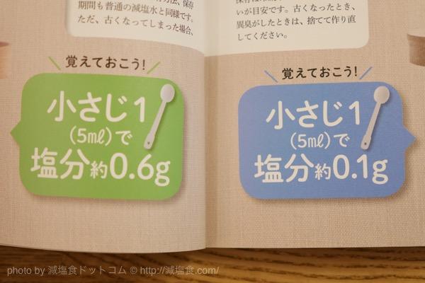 減塩水 レシピ