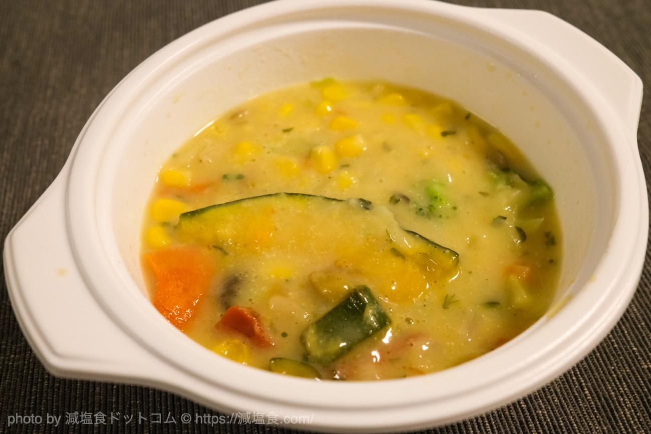 野菜を楽しむスープ食 実食