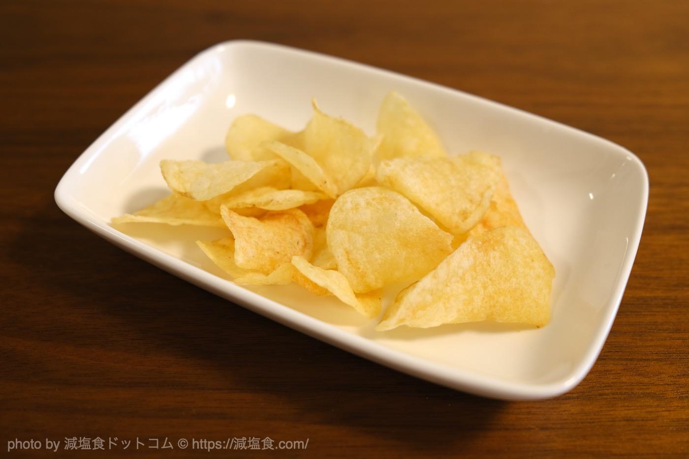 ポテトチップス 無塩