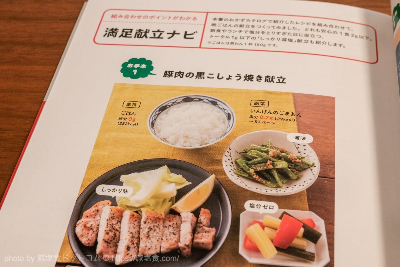 減塩 レシピ 満足感